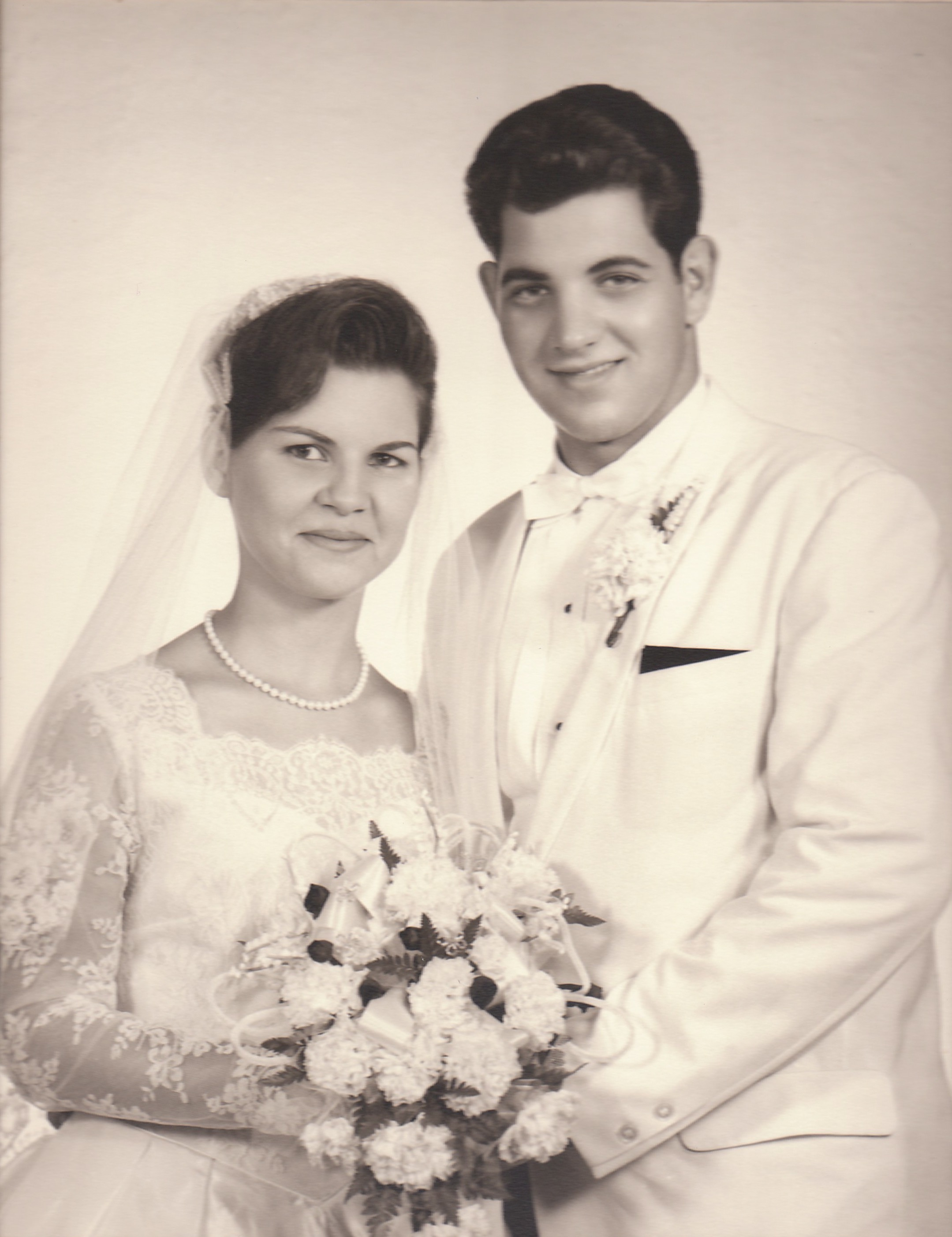My beautiful mother and handsome father when they were married in 1964.